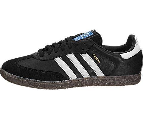 adidas Samba Originals Men's Shoes Core Black/White/Gum bz0058 (9.5 D(M) US)