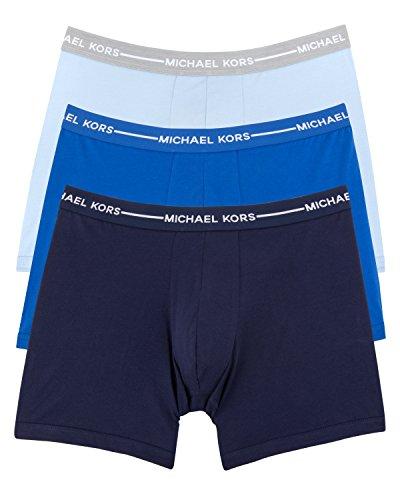 Michael Kors Men's 3-Pack Cotton Stretch Boxer Briefs Multi - Kors 3 Michael
