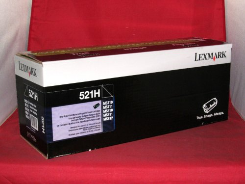 Lexmark 52D1H00 High Yield Return Program Toner, Office Central