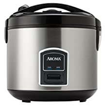 Aroma ARC-900SB 20-Cup, Cooked Rice Cooker andamp; Food Steamer