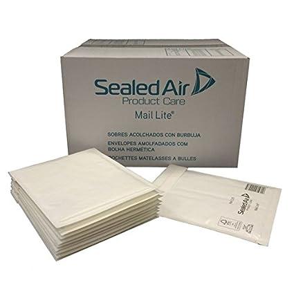 100 sobres blancos sellados de correo aéreo Lite J/6, 300 mm ...