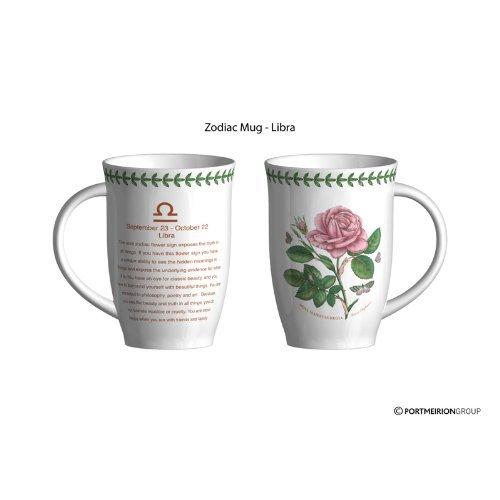Portmeirion Botanic Garden Zodiac Mug - Libra 201 151 8488