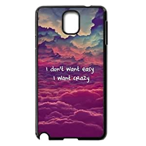 I Want Crazy Case for Samsung Galaxy Note3 N9000,diy I Want Crazy case