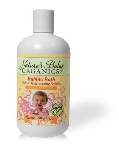 Nature's Baby Organics Moisturizing Bubble Bath, Tangy Tangerine, 12 oz. (Pack of 2) by Nature's Baby Organics