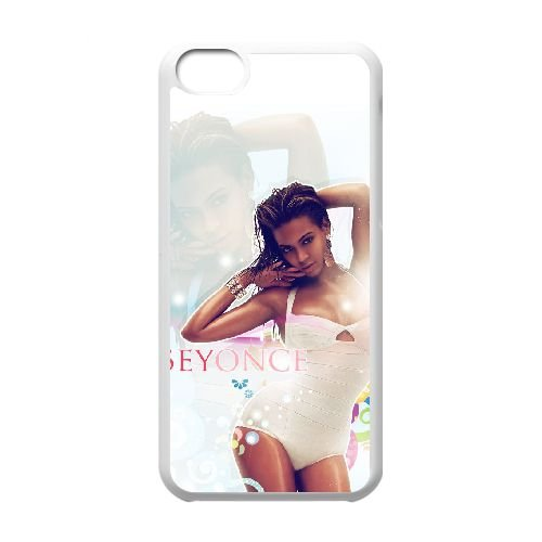 G2F83 Beyonce U0L5UZ cas d'coque iPhone de téléphone cellulaire 5c couvercle coque blanche IG0FTT8MD