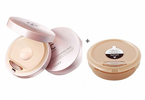 The Face Shop Face It Aura Color Control Cream 20g + Refill 20g (Set)/02 Natural Beige