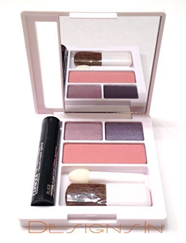 Clinique Eye Shadow, Blush, Mascara Palette 32 Rock Violet, 33 Graphite, 01 New Clover Travel Size
