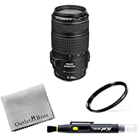 Canon EF 70-300mm f/4-5.6 IS USM Lens for Canon EOS SLR Cameras + Outlet Alpha Bundle