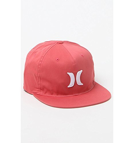 Hurley Mens Hat S/M 6Dl (Embroidered Hat Hurley)