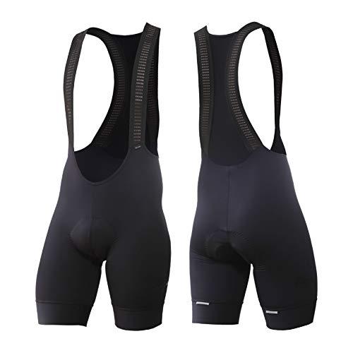 Premium Cut Women Ultra Slim fit 3D Padded Cycling Bike Bib Short Pro Performance UV Protection Wicking Bike Shirt Light Weight High Breathable 81250111512   (Black, X-Small) (Shorts Premium Bib)