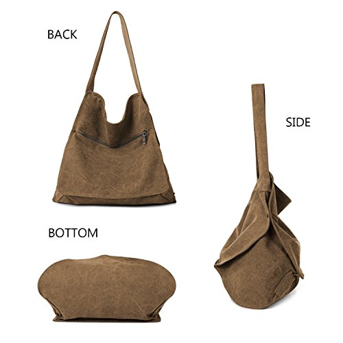 Tote Bag Brown Type17 Women's Shoulder OPwqUdZZ