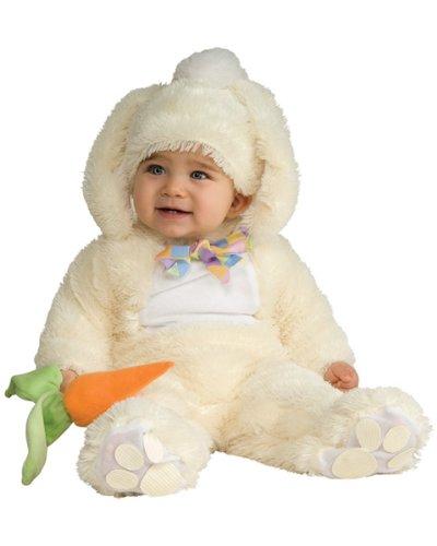 Rubie's Costume Baby Bunting Vanilla Bunny Costume, Vanilla, 6-12 Months