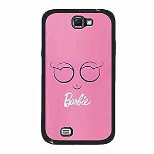 Phone Skin for Barbie,Cute Barbie funda,Phone Cover,TPU Samsung Galaxy Note 2 Cover Case