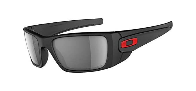 a2d8adaaa1dc1 Image Unavailable. Image not available for. Colour  Oakley OO9096-44 Men s Ducati  Fuel Cell Matte Black Frame Grey Polarized Sunglasses