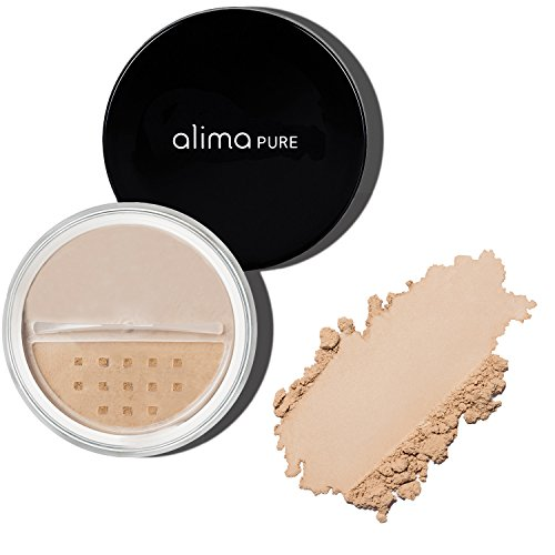 Alima Pure Satin Matte Foundation - Neutral - Cool Tone Skin Warm Yellow Or