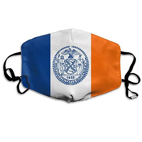 HBLSHISHUAIGE New York City Flags Unisex Fashion Mouth-Masks