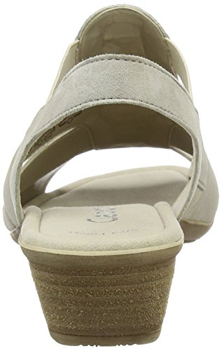 with paypal for sale Gabor Women's Fashion Wedge Heels Sandals Beige (Beige 12) outlet new sale shopping online YgeLgv