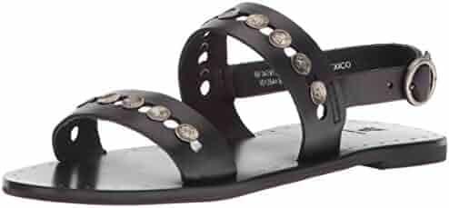 FRYE Women's Ally 2 Band Hammered Stud Sling Sandal