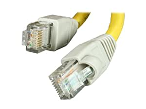 Rosewill 3-Feet Network Crossover Cat 6 Cable, Yellow (RCW-717)