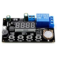YIYIO VHM-018 5V Real Time Timing Delay Timer Relay Module Switch Control Clock Synchronization Multiple Mode Control