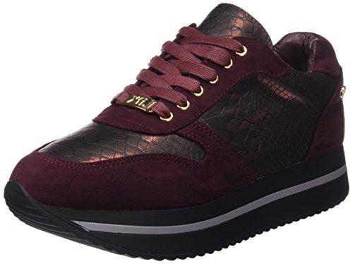 para Mujer Zapatillas XTI 047262 Rojo Burdeos TcAFwqwE