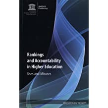Rankings And Accountability In Higher Education - Uses And Misuses (Education on the Move Series)
