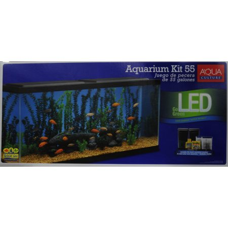 Aqua Culture Aquarium Starter Kit, 55 Gallon
