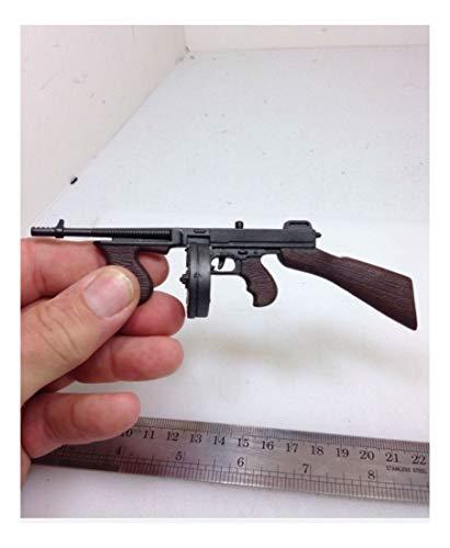 1/6 THOMPSON SUB MACHINE GUN GANGSTER USMC BRITISH DRUM WW2 DRAGON BBI DID 21st