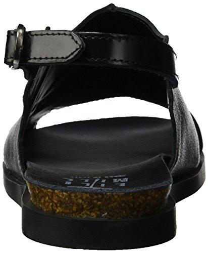 LiliMill Women's Vanda Open Toe Sandals Silber (Acciaio) FMD1q