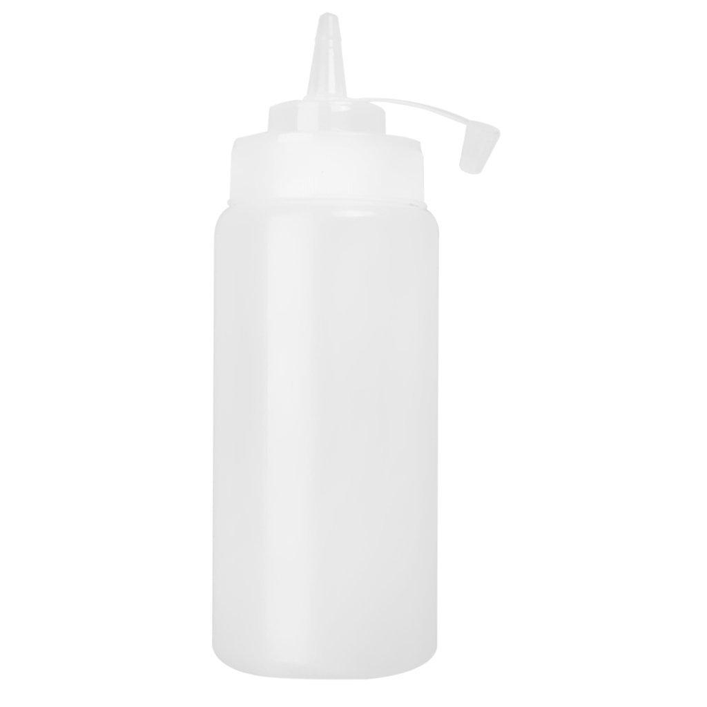 Hilai TOOGOO(R) Medium-Sized Plastic Sauce Squeezer Bottle Dispenser - 16oz