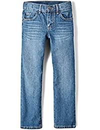 Big Boys' Straight Leg Jeans