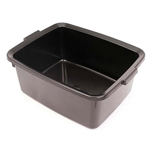 Addis 12l 5 Star Rectangular Bowl Black 170mm x 420mm x 330mm
