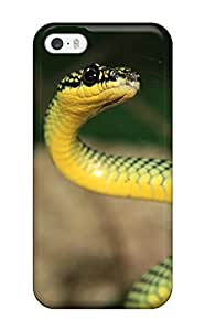 Premium Snake Back Cover Snap On Case For Iphone 5/5s