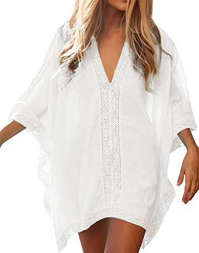 Loritta Womens Beach Bathing Suit Swim Bikini Swimsuit Oversized Cover up Dresses