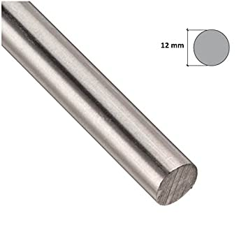 STAINLESS STEEL Round Bar Steel Rod - GRADE 304 Silver - Various Size - 1M LONG !! FREE DELIVERY by TMW Profiles (3mm x 1000mm) Forgis