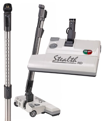 15in Stealth Vacuum Head and Telescopic Wand