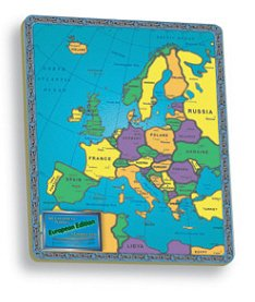 The Continent Puzzles: European Edition