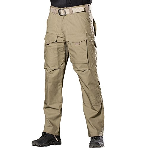 FREE SOLDIER Men's Outdoor Multi Pockets Tactical Pants