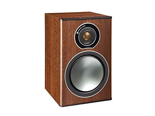 Monitor Audio Bronze Series 1 2 Way Bookshelf Speakers - Walnut ()
