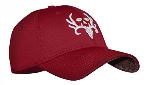 Bone Collector Antler Pro Flexfit Fitted Crimson Hunting Hat Cap
