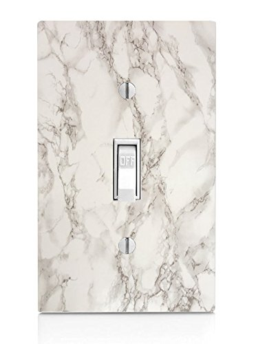 Marble Background Pattern Light Switch Plate