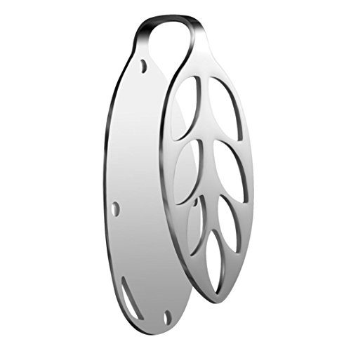 Noble Scallop (Cover Case Clip Bracket For Bellabeat Leaf Nature Health Tracker [Stainless Steel] (B))