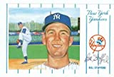 Autograph Warehouse 61952 Bill Stafford Autographed Postcard New York Yankees 1991 Rinni 1961 Yankees No. 4 3.5X5.5 67