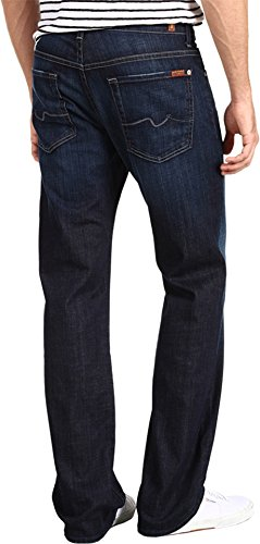 7 For All Mankind Men's Austyn Relaxed Straight-Leg Jean in Los Angeles Dark, Los Angeles Dark, 36x34 from 7 For All Mankind