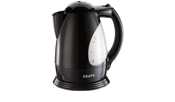 Krups F LA1 43, Negro, 2200 W, 1200 g - Calentador de agua: Amazon.es: Hogar
