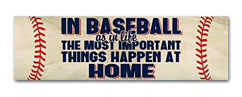 in-baseball-the-most-important-things-happen-at-home-rustic-real-wood-decor-4-inch-by-12-inch