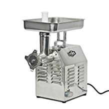 KWS ME-12 Commercial 765W 1HP Electric Meat Grinder Stainless Steel Meat Grinder for Restaurant/deli/ Home