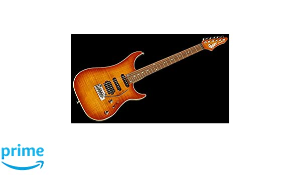 Guitarra eléctrica Vigier Excalibur Ultra Blues Natural Amber: Amazon.es: Instrumentos musicales