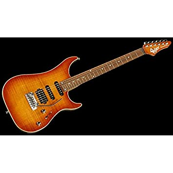 Guitarra eléctrica Vigier Excalibur Ultra Blues Natural Amber: Amazon.es: Instrumentos musicales
