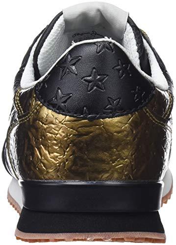 Zapatillas Pepe Gable 999 Mars Black Mujer para Jeans Negro r7q7xvgtw